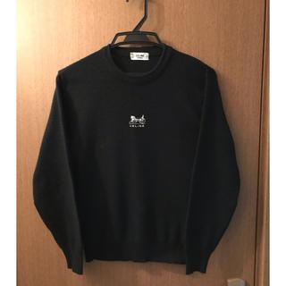 セリーヌ(celine)のCELINE 黒セーター薄手(ニット/セーター)