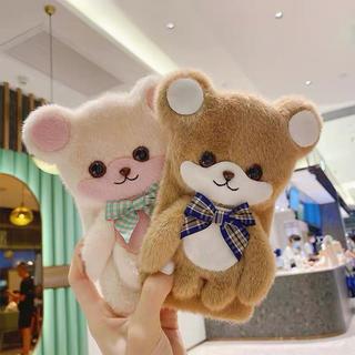 可愛いiPhoneケース 熊ちゃん