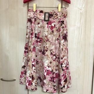 JUSGLITTY - ジャスグリッティー 花柄 スカート