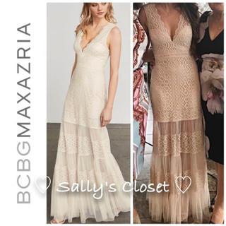 ビーシービージーマックスアズリア(BCBGMAXAZRIA)の⭐️新作 ♡ BCBGMAXAZRIA ワンピース ドレス 新品♡ 83(ロングワンピース/マキシワンピース)