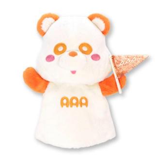 トリプルエー(AAA)のえ〜パンダ 旗持ち パペット(ミュージシャン)