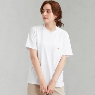 ダントン(DANTON)のお値下げ中 ダントン ポケット Tシャツ 36 ホワイト(Tシャツ(半袖/袖なし))