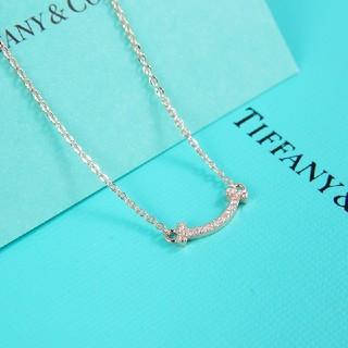 Tiffany & Co. - 最終値下げ ★ティファニー★ Tスマイルネックレス