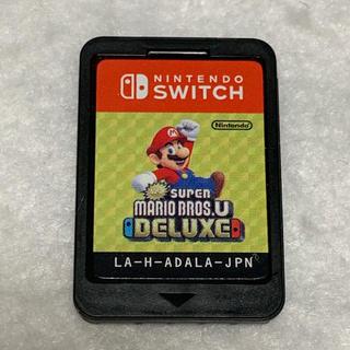 Nintendo Switch - ニンテンドースイッチ NewスーパーマリオブラザーズU DX ソフトのみ