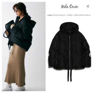 Mila Owen - 裾リボンダウンジャケット