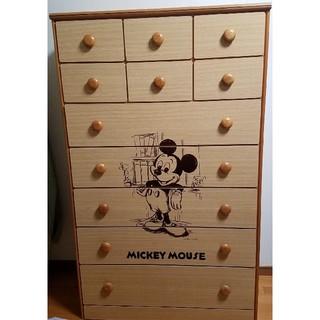 ミッキーマウス - 昭和レトロ ★ ディズニー ミッキーマウス ★ タンス チェスト