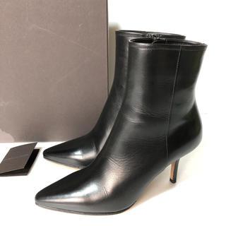 PELLICO - 美品 35 PELLICO ショートブーツ 黒 ペリーコ  ジップ