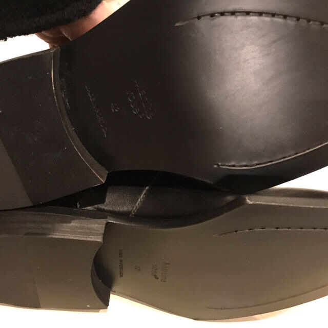 Balenciaga(バレンシアガ)の今季新品 martine rose サイドゴアブーツ 42サイズ メンズの靴/シューズ(ブーツ)の商品写真
