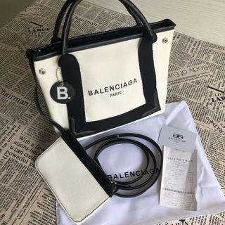 Balenciaga - トートバッグ  白と黒  balenciaga