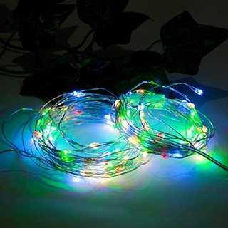 約5m(LED約50球)e.product LED イルミネーション 電池 クリ(蛍光灯/電球)