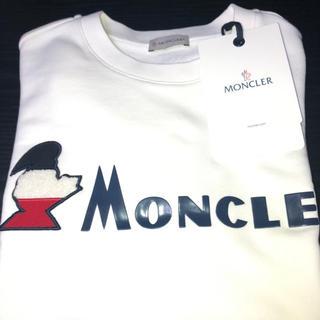 MONCLER - 【新品★未使用品】モンクレール★ロゴスウェット★Sサイズ