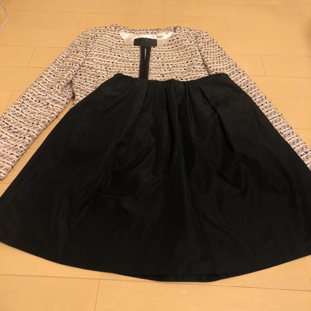 UNTITLED(アンタイトル)のアンタイトル    ママスーツ  S M 入学式 卒業式 フォーマル  スーツ レディースのフォーマル/ドレス(スーツ)の商品写真