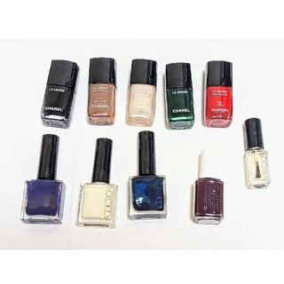 CHANEL - CHANEL&ADDICTION&ESSIE ネイル10本セット