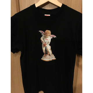 Supreme - supreme cupid tee S 黒色 美品 送料込み 19ss