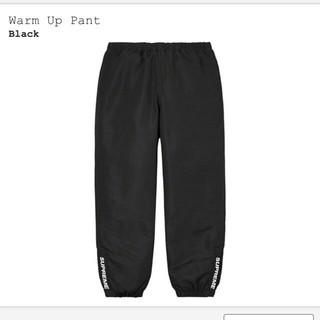 Supreme - Supreme 20AW Warm Up Pant Black M