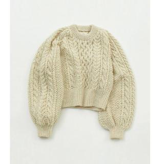 トゥデイフル(TODAYFUL)のトゥデイフル  Cable Wool Knit(ニット/セーター)