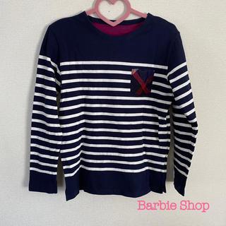 バーバリーブラックレーベル(BURBERRY BLACK LABEL)のブラックレーベルクレストブリッジ  ボーダーロンT(Tシャツ/カットソー(七分/長袖))