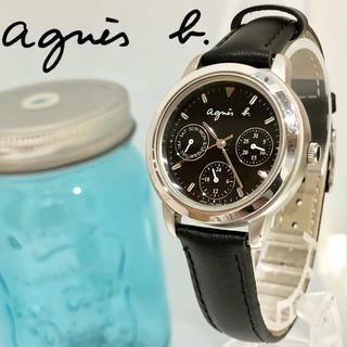 agnes b. - 93アニエスベー時計 新品ベルト 新品電池 レディース腕時計 日付ウィークリー