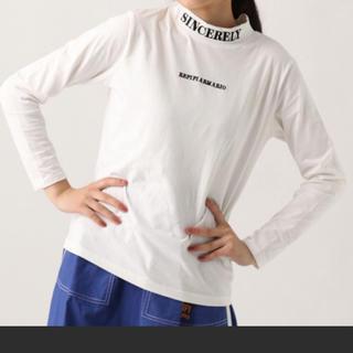 レピピアルマリオ(repipi armario)のレピピアルマリオ プチハイエリロゴプールオーバー 今期(Tシャツ/カットソー)