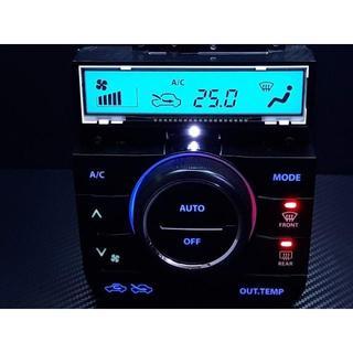 スズキ - ワゴンR スティングレー MH23S エアコンパネル LED打ち替え済み品