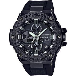 ジーショック(G-SHOCK)のカシオ G-SHOCK カーボンベゼル モバイルリンク ソーラー腕時計 ブラック(腕時計(アナログ))