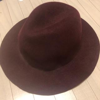 エイミーイストワール(eimy istoire)のレッド ハット帽(ハット)