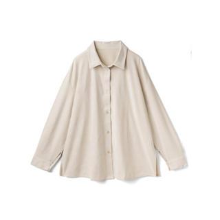 GRL - GRL スエードオーバーサイズシャツ アイボリー  新作 アウター カジュアル