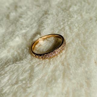 スタージュエリー(STAR JEWELRY)のパヴェダイヤモンドリング K18PG 7号(リング(指輪))