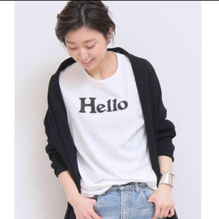 MADISONBLUE - MADISON BLUE  新品 18SS HELLO Tシャツ