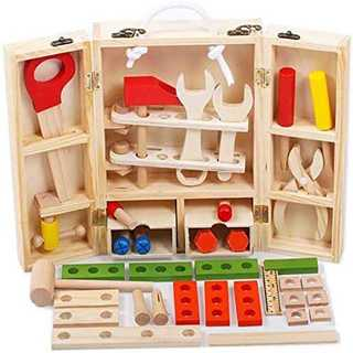 【国内検査済 38パーツ】男の子のおもちゃ 収納BOX付き