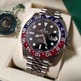 ROLEX - ロレックス GMTマスター2 赤青 ペプシ 126710BLRO