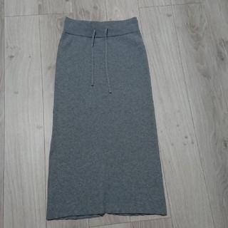 ローリーズファーム(LOWRYS FARM)のローリーズファーム☆リブニットナロースカート(ひざ丈スカート)