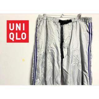 UNIQLO - [中古] UNIQLO 裏起毛ナイロンパンツ