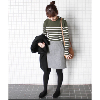 イエナスローブ(IENA SLOBE)のSLOBE IENA 台形スカートSサイズ(ミニスカート)