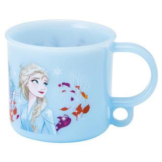 アナトユキノジョオウ(アナと雪の女王)の[新品 未開封]  アナと雪の女王2  エルサ&オラフ  コップ(弁当用品)