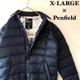 エクストララージ(XLARGE)の<X-large×Penfield>ダブルネーム 別注 ダウンジャケット (ダウンジャケット)