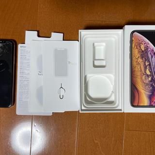 iPhone - ジャンク品 iPhoneXS gold 64GB