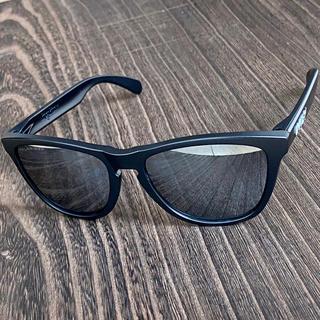 Oakley - フロッグスキン 偏光 ブラック ミラー オークリー サングラス 釣り ゴルフ