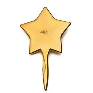 アーカー(AHKAH)のAHKAH 手鏡 スティックミラー ゴールド(ミラー)