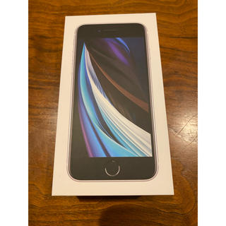 Apple - ✨新品未使用✨iPhone se2 128G ホワイトSIMロック解除済み
