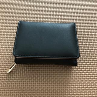 マークバイマークジェイコブス(MARC BY MARC JACOBS)のミニウォレット 三つ折り財布 黒(財布)