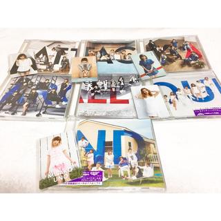 トリプルエー(AAA)のAAA シングル CD 7ヶ月連続リリース カード セット(ポップス/ロック(邦楽))