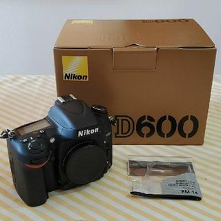 Nikon - ニコン デジタル一眼レフ   Nikon D600    ショット数4858