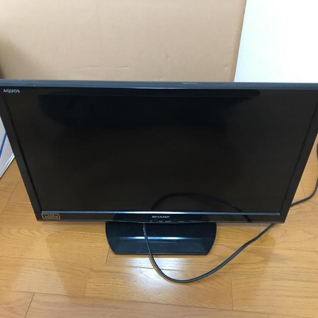 AQUOS(アクオス)のシャープ 液晶 TV24型 SHARP LED AQUOS スマホ/家電/カメラのテレビ/映像機器(テレビ)の商品写真