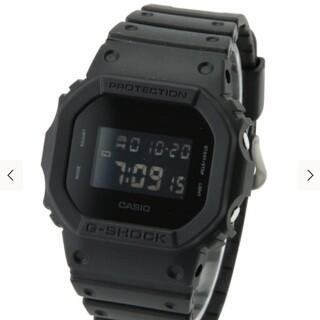ジーショック(G-SHOCK)のオールブラックジーショック(腕時計(アナログ))