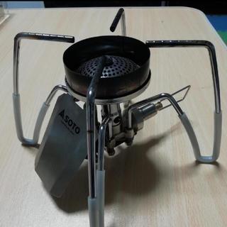 シンフジパートナー(新富士バーナー)のSOTOシングルガスバーナーにぴったり風防andシリコンチューブ(ストーブ/コンロ)