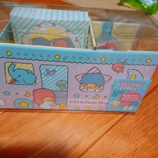 サンリオ(サンリオ)のキキララ マスキングテープ&メモセット(ノート/メモ帳/ふせん)