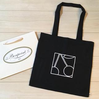 Bonpoint - 新品 ボンポワン Bonpoint ノベルティ バッグ 黒 ショッパー 紙袋 付