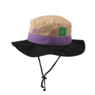 シー(SEA)のWIND AND SEA x ellesse  Bucket Hat Fサイズ(ハット)