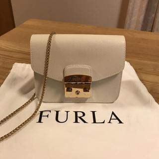 フルラ(Furla)の未使用♡FURLA フルラ メトロポリス♡ホワイト(ショルダーバッグ)